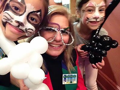 Jania Magic Lady Children Family Events